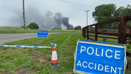 Emergency services were called to a blaze at commercial premises inHockwold cum Wilton near Thetford.