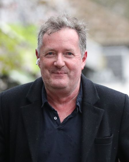 Piers Morgan returns to his home in Kensington, central London, the morning after it was announced b