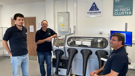 EPIC has taken delivery of a device packaging system from technology partners Pyramid Engineering