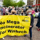 Wisbech says NO to incinerator.Market Place, WisbechSunday 27 June 2021.Picture by Terry Harris.
