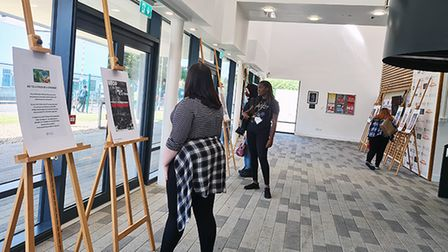 New City College's Ardleigh Green campus held its firstgreen day on June 15.