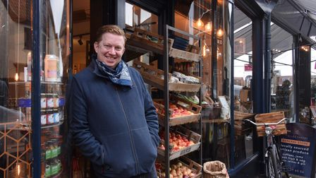 Alan Sabol owner of St Giles Pantry open seven days a week.