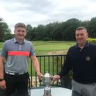 Ben Phillips with Club Captain Neil Pullman
