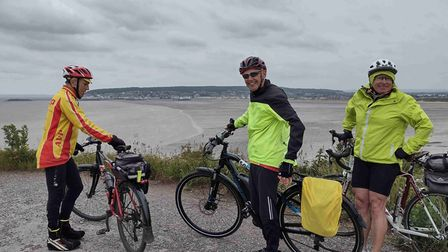 Somerset tour for the Axe Valley Pedallers