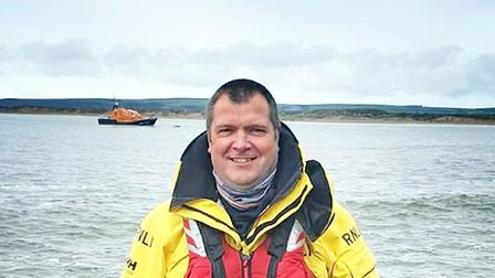 Andrew joined the RNLI 30 years ago