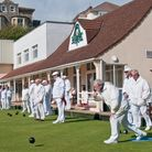 Action from Victoria Bowling Club