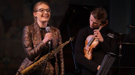Jess Gillam and her Ensemble