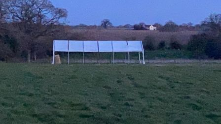 The 6m by 12m marquee belonging to 1st Aylsham Scout group was stolen from land next toWoodgate Nursery in the village.