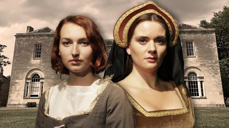 Molly Horne and Luci Fish star in historical drama The Priory at the Market Theatre in Hitchin.