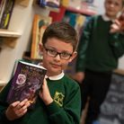 Pupils from Ranelagh Primary School were in their element choosing books after they won £250 to spe