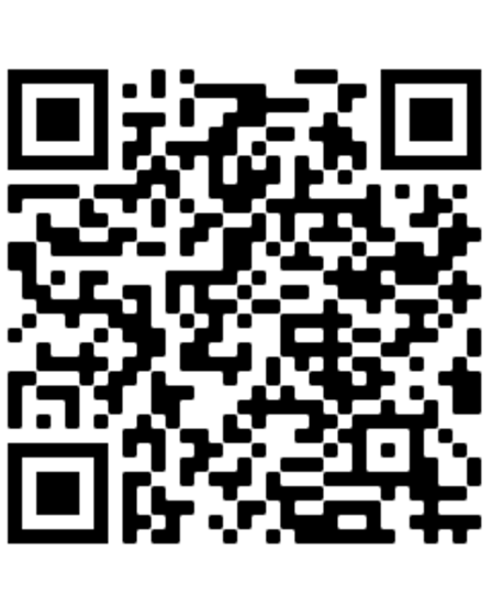 The QR code people can use to donate to the marathon for Benny Pitcher.