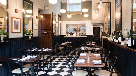 The Quality Chop House is a 19th-century working man's 'eating house' revamped as a Modern British dining room and wine bar