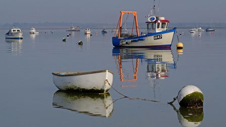 Calm day looking out over Felixstowe Ferry Picture: Stephen Squirrell/iWitness