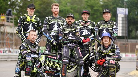 The Witches back to a full team with the return from injury of Jason Crump, are pictured ahead of th