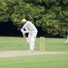 Owais Shah in action for Welwyn Garden City. Picture: WGCCC