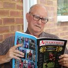 Brian 'Bubs' Hubball with his new book celebrating 60 years of the Herts Ad Sunday League.