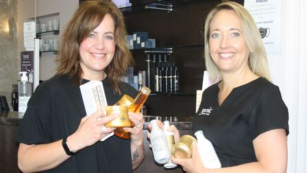 Tonic's Simone (left)and Nadine Johnson (right)are supporting National Hygiene Week in July.