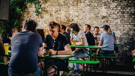 The Five Points Brewery's new outdoor space in London Fields has opened just in time for summer.