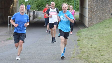 Fairlands Valley Spartans took part in two 10k wave runs last week