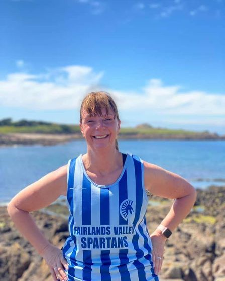 Judy King celebrated her birthday by completing the Guernsey Parkrun
