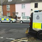 Back in December 2019, police and scenes of crime officers at Tonning Street, Lowestoft after two officers wereinjured.