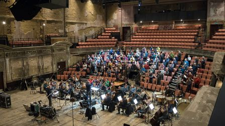 Crouch End Festival Chorus record at Alexandra Palace's Victorian theatre