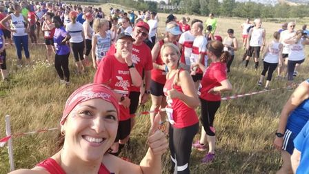 East London Runners at Elvis race at the Olympic Park