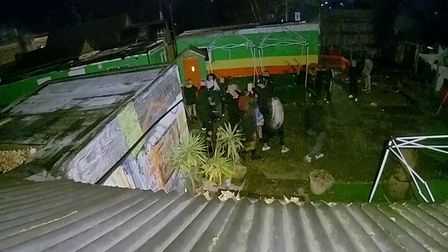 Illegal party at 141 Station Road