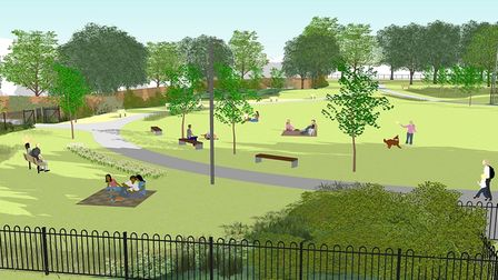 """Islington Council says its plans for Barnard Parkseek to make it a """"more pleasant space for relaxation, leisure and sport"""""""