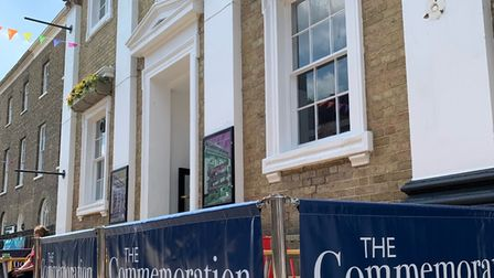 The Commemoration Hall in Huntingdon has a new Art Cafe