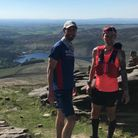 Royston Runners Grant Stefan Chapman and Liam Butler are running from Lands End to John O'Groats