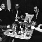 Plenty of laughs had on an evening Flying Horse Pub in 1974. Picture: DAVID KINDRED