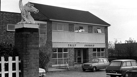 Flying Horse Pub, Waterford Rd, Ipswich 1974. Picture: DAVID KINDRED