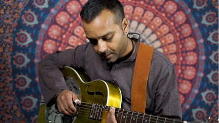 Muswell Hill musician Ajay Srivastav's album Powerless shot to the number 1 on both the iTunes and Amazon blues music charts
