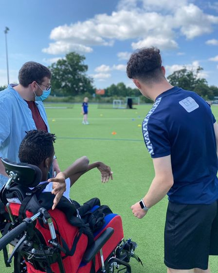 St Albans City Youth FC hosted a football skills day.