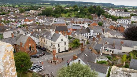 Ottery St Mary view