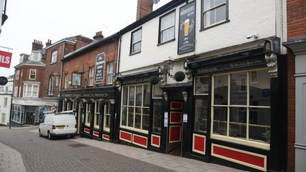 The Gardeners Arms & Murderers Cafe Bar on Timberhill in Norwich. Picture: Danielle Booden
