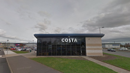 Costa Coffee at Anglia Retail Park could be getting a drive-thru if plans are approved