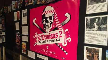 St Trinian's 2: The Legend of Fritton's Gold was partly filmedat Knebworth House.