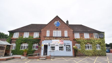 Landlord David Turnbull retiring from the Blue Boar pub after 38 years. Picture : ANTONY KELLY