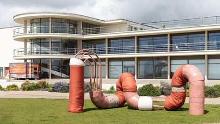 Holly Hendry: 'Invertebrate'. A Waterfronts commission with the De La Warr Pavilion.