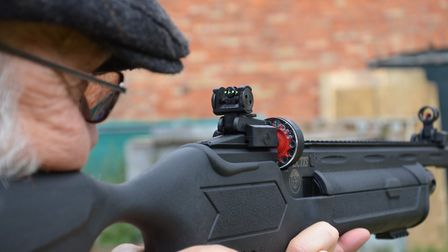 Flip-up open sights are all included