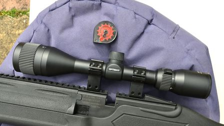Fitting a scope is easy