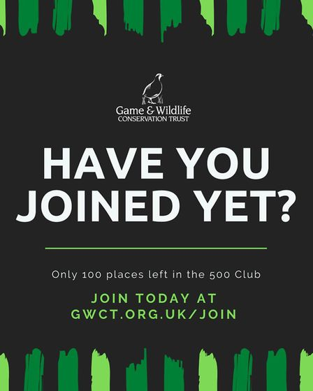 Have you joined the GWCT yet?