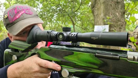 Beware a man with his name on a scope