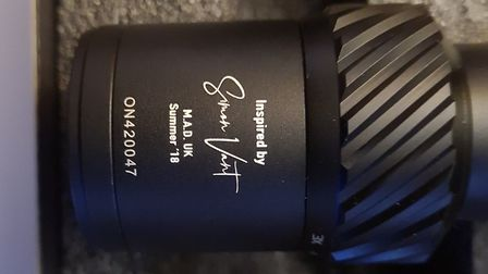 Not many people get their name on a scope