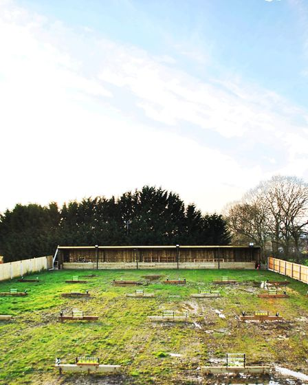 The new airgun range at Barby Sporting is purpose built