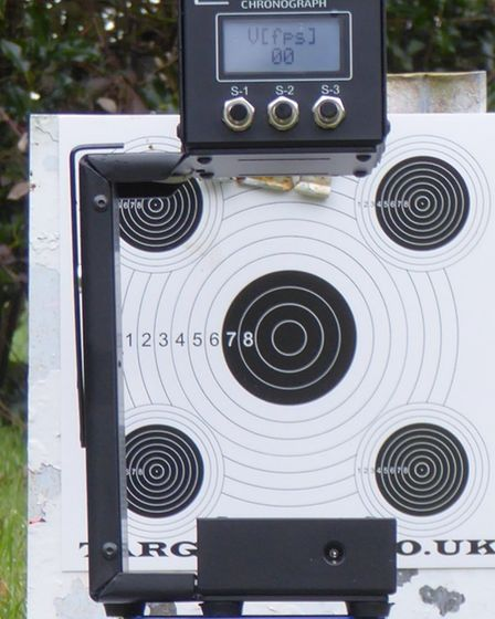 The R2as wide aperture is perfect for down range shooting