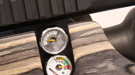 Regulated PCPs usually have two on-board pressure gauges.