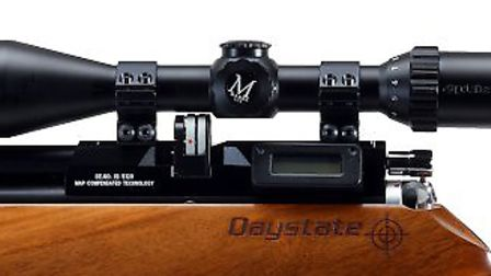 This daystate Mk4 shows the ultimate in just about fitting and is a good example of a scope that is